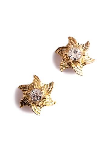 JEWELCITI gold Gold Plated Earrings B592AACC175BD1GS_1