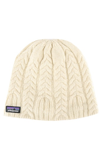 Patagonia white Cable Beanie PA549AC0RQF2MY_1