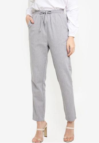 Zalia blue Casual Drawstring Pants 23524AA407DC32GS_1
