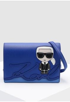 1d52f825e788 KARL LAGERFELD blue Ikonik Shoulder Bag 89919AC4397884GS 1