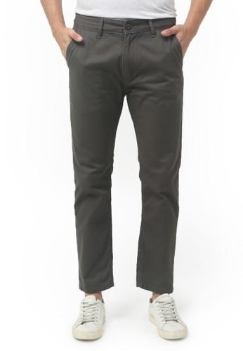 Tendencies grey Tendencies Long Pants RIGID QUARTER CHINOS DARK GREY 7526BAA5F368FEGS_1