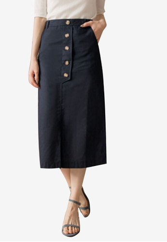 High Waisted Button Front Tie Belt Bodycon Midi Pencil Stretch Party Skirt