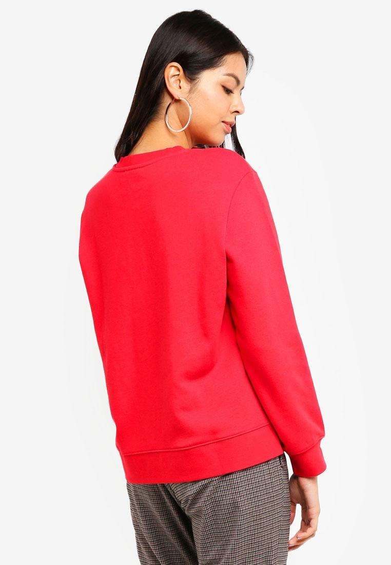 ESPRIT Sweatshirt Long Long ESPRIT Red Long Sleeve Sleeve Sweatshirt Red Long ESPRIT Sleeve ESPRIT Sleeve Red Sweatshirt nYT0AqrYw