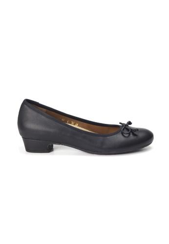 Shu Talk black LeccaLecca Classic Leather Comfortable Flats EEB86SH799954AGS_1