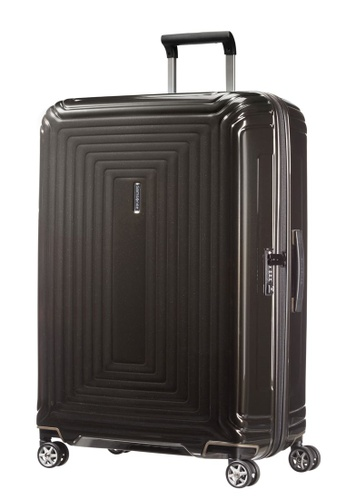 Samsonite black Samsonite Aspero Spinner 75/28 Luggage FC885ACFD5F934GS_1
