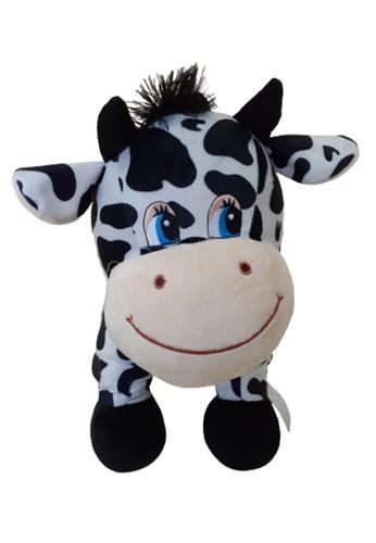 J&J black Standing Cow With Sound, Boneka Sapi Berdiri dengan Suara Ukuran L 8D68CTH1724990GS_1