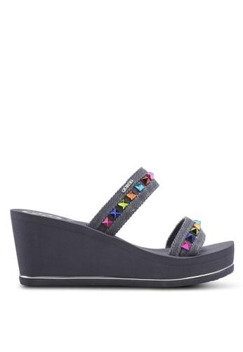 Guess navy Beach Sandals & Flip Flops D2725SHA875202GS_1