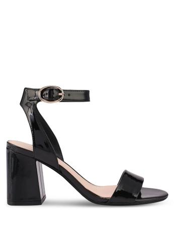 ALDO black Kederini Heeled Sandals 9968DSHFEA6B30GS_1