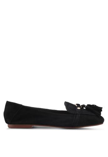 TOPSHOP black Lisbon Tassel Loafers 40816SH5008CA0GS_1