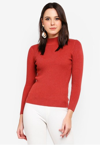 BYN red Knitted Top BE8CDAA5DABF2EGS_1