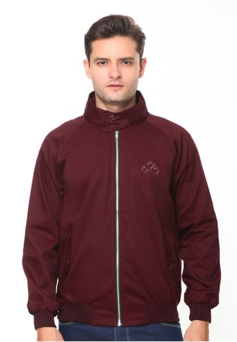 Endorse red Endorse Jacket I Harrington Maroon - END-RH002 67907AA57CD730GS_1