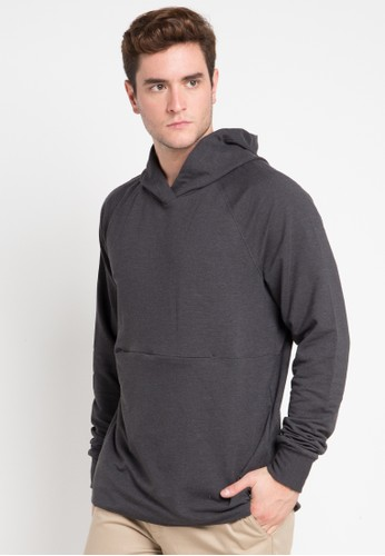 hurley black and multi Dri-Fit Offshore Pop Hood Fleece 6BA9BAA8279F3EGS_1