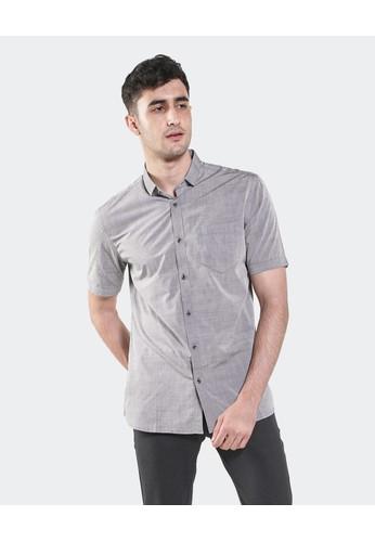 Manzone grey KOCHI - BESTBUY-GREY Shirt E6CAAAA77C7A6DGS_1