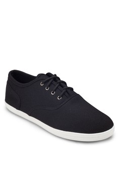 Basic Mesh Lace Up Plimsolls