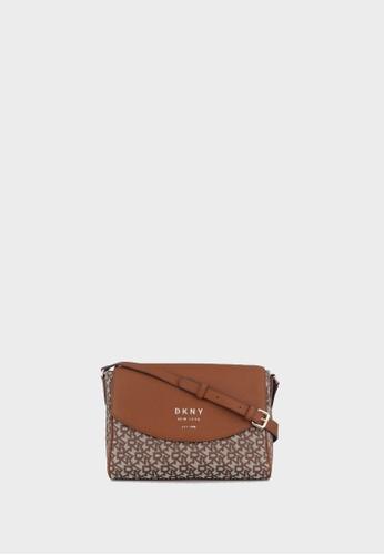 DKNY multi Noho Flap Messenger Bag 3918BAC510DFA8GS_1