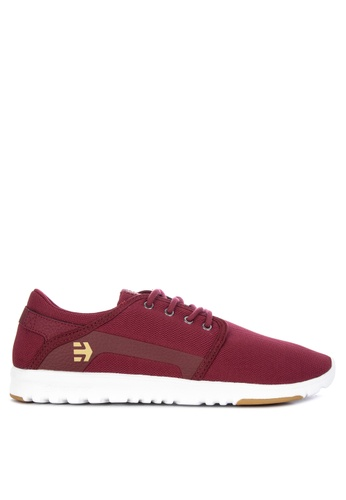 Etnies red Scout Sneakers 14E74SH5D001AEGS_1