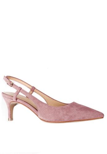 Twenty Eight Shoes Slingback Heel 192-30 33990SH2F42BAEGS_1