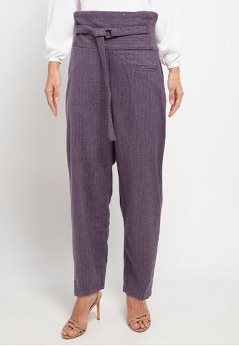 Covering Story purple Senta Pants - A EC87DAA2DFF50FGS_1