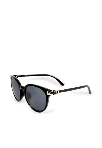 ASLLY black and multi The Arabian Nights│Black Cat-Eye Sunglasses 69F78GL7F678A6GS_1