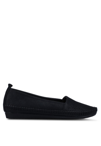 Bata black Slip On Loafers 70E7DSH04B0E10GS_1