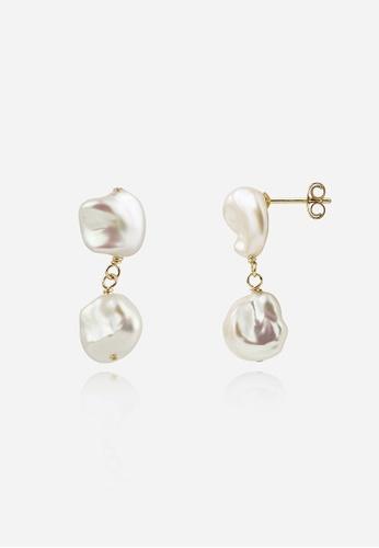 monojewelry BRUNA PEARL EARRINGS CDC9AACD873130GS_1