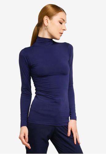 Gene Martino blue Long Sleeve Inner Wear 3F58AAA72D5F6EGS_1