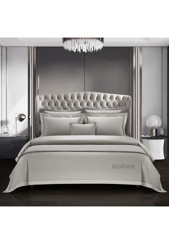 Epitex white Cressent Dale Signature Collection  CR2303 1600TC Supremely Egyptian Cotton (Silver) CA202HL90E1751GS_1