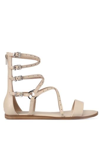ALDO beige Patras Sandals AL087SH0S72YMY_1