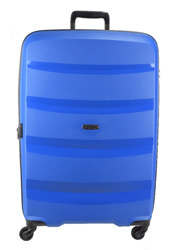 Heys blue Heys Athena 24 inch Expandable  4 wheels Hard Case Luggage - H-10101 BLUE 57AC5ACF6F351CGS_1