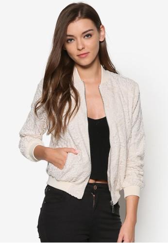 蕾絲棒球外套,esprit手錶專櫃 服飾, 外套
