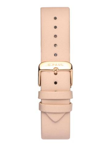 43mm 皮革esprit 內衣錶帶, 錶類, 皮革錶帶