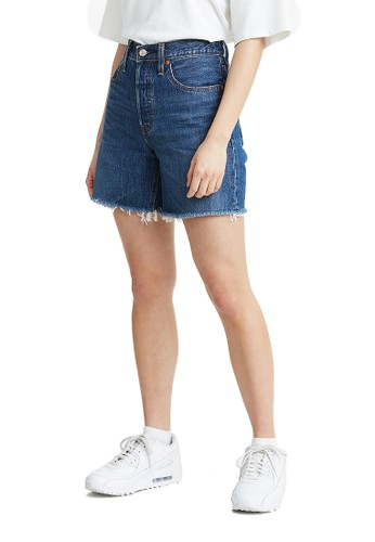 Levi's blue Levi's 501 Mid Thigh Short Sansome Nights (85833-0003) C17A3AAA2AAB88GS_1
