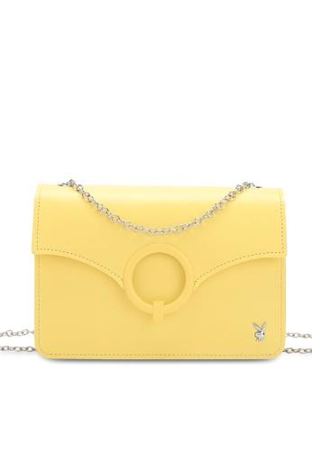 PLAYBOY BUNNY 黃色 Women's Sling Bag / Shoulder Bag / Crossbody Bag 7E6FDAC2AA9B26GS_1