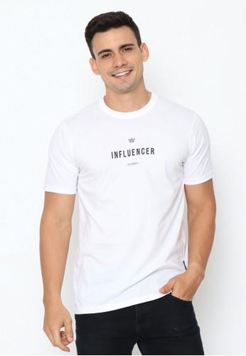 17seven Original white 17seven Tshirt 0239-INFLUENCERWHT 7E2B2AAA26D583GS_1