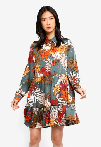 062da6751d Buy Vero Moda Ivy Flower LS Tunic Dress Online on ZALORA Singapore