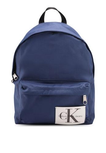 Calvin Klein blue Campus Backpack - 40 - Calvin Klein Accessories C21D3ACEDF36EBGS_1