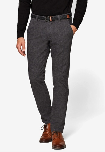 ESPRIT 灰色 Woven Length Service Pants 30188AAF36AC92GS_1