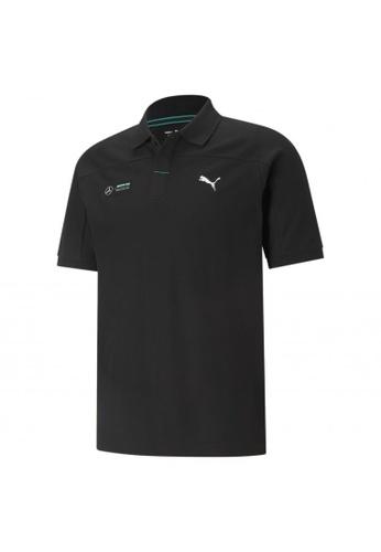 PUMA black PUMA Mercedes F1 Men's Polo Shirt 8249EAAD52919AGS_1
