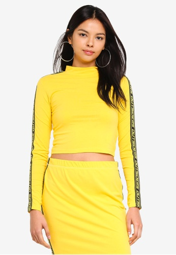 Factorie multi Co-Ord Cropped Funnel Neck L Top F520FAA021134EGS_1