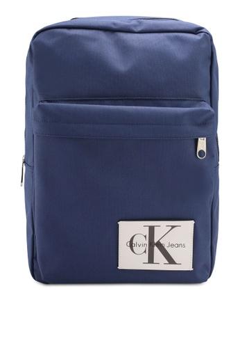 Calvin Klein blue Slim Squ Backpack - 40 - Calvin Klein Accessories 45717AC3CB18EFGS_1
