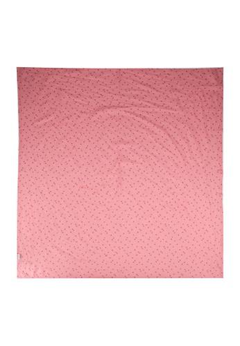 Cotton On Kids pink Organic Muslin Blanket EF17FKC505E089GS_1