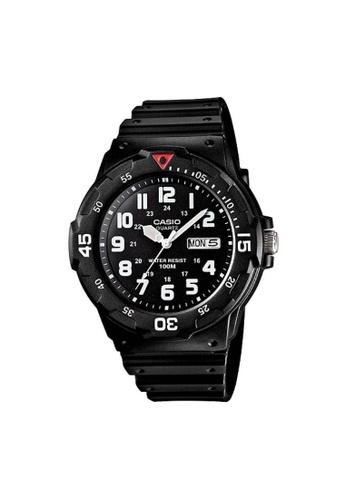 Casio black CASIO GENERAL MRW-200H-1BVDF UNISEX'S WATCH CA347AC74ZYBID_1