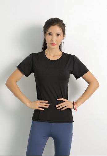 HAPPY FRIDAYS Women's Yoga Short Sleeve Tees DK-TX06 7CA70AAD69DDA9GS_1
