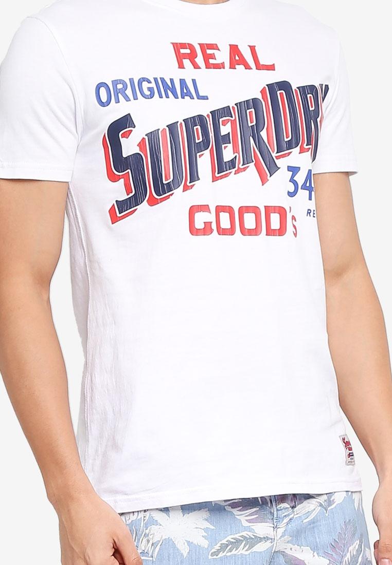 34st Goods Tee Tee Goods Superdry 34st Optic Superdry Optic rRrq4v