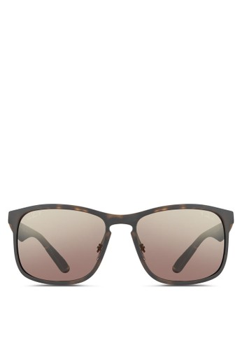 e16a2407f8 Ray-Ban brown RB4264 Polarized Sunglasses RA941GL0UNXJID 1