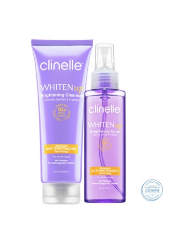 Clinelle Whitening : Clinelle [Official] WhitenUp Brightening Cleanser & Toner CL708BE35UJOMY_1