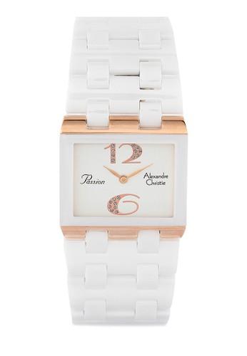 Alexandre Christie white Alexandre Christie Jam Tangan Wanita - White Rosegold - Ceramic - 2562 LHBRGSL AL709AC0V4Y1ID_1