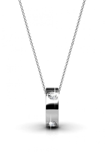 Her Jewellery white Her Jewellery Hope Pendant (White Gold) with Necklace Chain with 18K Gold Plated F0951AC7F56CC7GS_1