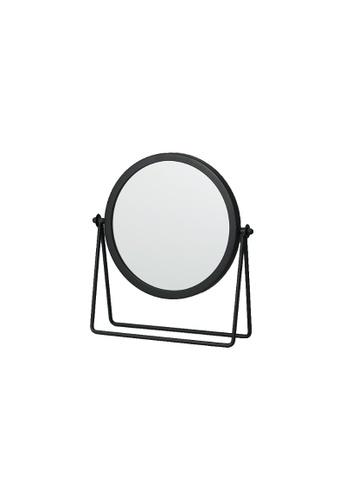 DILAS HOME black Dressing Table Mirror (Black) C56E7HL5EFF6E4GS_1