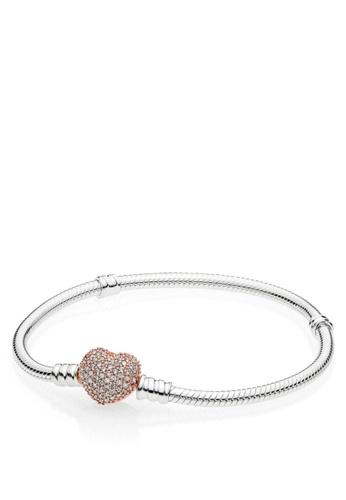 c03fcf922 Buy Pandora Snake Chain Silver Bracelet Online on ZALORA Singapore